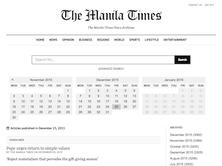 Manila Times Archives