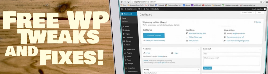 WordPress Help: Fix WordPress website for Free